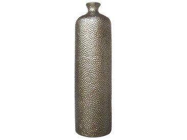 Creativ deco Vase »Stakkato«, silberfarben, silber
