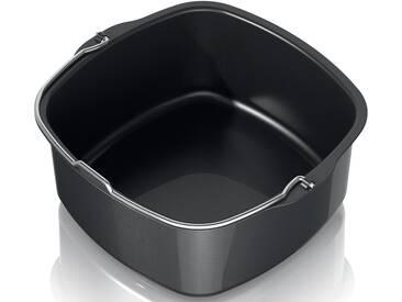 Philips Backeinsatz HD9925/00, Zubehör für für Airfryer, antihaftbeschichtet, schwarz, schwarz