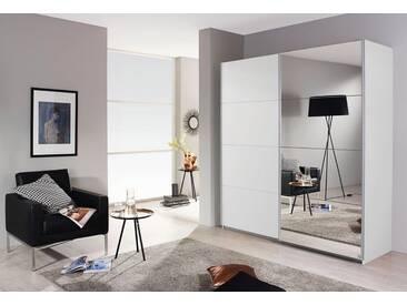 rauch PACK´S Schwebetürenschrank »Subito«, weiß, Breite 136 cm, 1 Spiegel- und 1 Dekortür, weiß