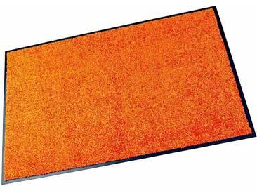HANSE Home Fußmatte »Wash & Clean«, rechteckig, Höhe 7 mm, waschbar, orange, 7 mm, orange