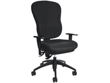 TOPSTAR Bürostuhl ohne Armlehnen »Wellpoint 30 SY«, schwarz, schwarz