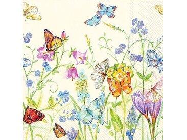 """Serviette """"Happy Butterflies"""""""