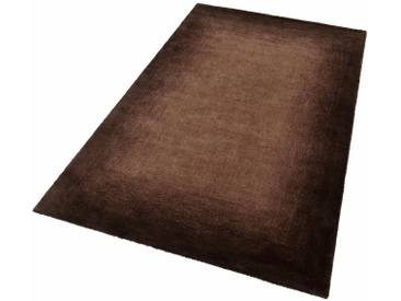 THEKO Teppich »Hula«, rechteckig, Höhe 18 mm, braun, 18 mm, braun