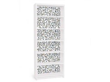 Bilderwelten Möbelfolie für IKEA Billy Regal »Mille fleurs Blumenmuster«, bunt, Farbig