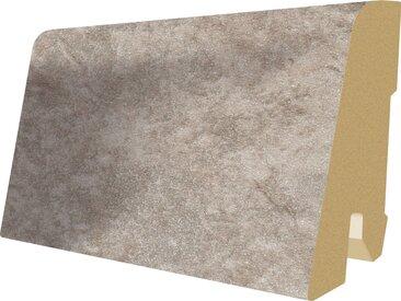 EGGER Sockelleiste »L452 - Stein grau«, 6 cm Sockelhöhe, 240 cm Länge, grau, grau