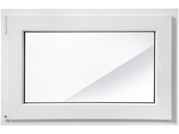 RORO Türen & Fenster RORO Kunststoff-Fenster »Classic 400«, BxH: 90x60 cm, weiß, in 2 Varianten, weiß, links, weiß