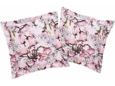 Guido Maria Kretschmer Home&Living Kissenhüllen »Magnolia«, rosa, Mischgewebe, rosé