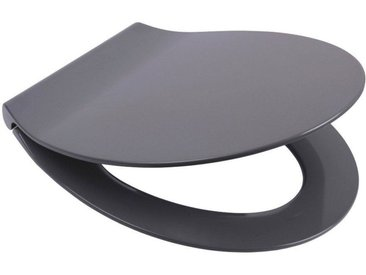 Sanilo SANILO WC-Sitz »Flat Grau«, mit Absenkautomatik, grau
