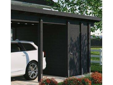 Kiehn-Holz Geräteraum BxT: 299x174 cm, nur für Carport KH 320/321, versch. Farben, grau, anthrazit
