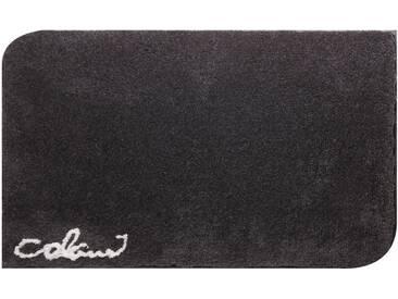 Colani Badematte » 40« , Höhe 24 mm, rutschhemmend beschichtet, fußbodenheizungsgeeignet, grau, 24 mm, anthrazit
