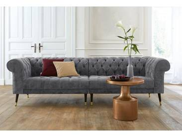 Guido Maria Kretschmer Home&Living Big-Sofa »Tinnum«, grau, 263 cm, grau