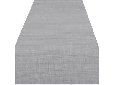 Delindo Lifestyle Tischläufer »WIEN«, Fleckabweisend, pflegeleicht, 180 g/m², grau, grau