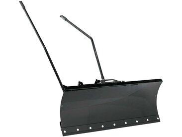 AL-KO Schneeräumschild für Rasentraktoren der Reihe Black-Edition, schwarz, schwarz