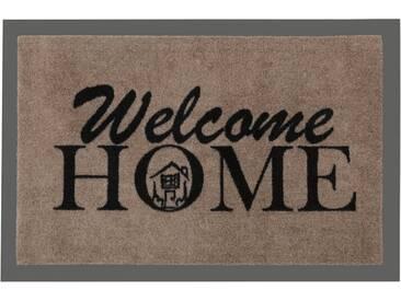 HANSE Home Fußmatte »Welcome Home«, rechteckig, Höhe 7 mm, rechteckig, braun, 7 mm, braun