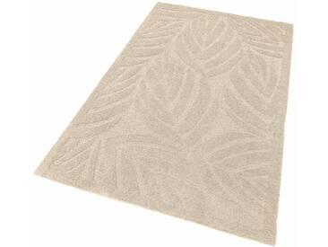 my home Selection Hochflor-Teppich »Jordi«, rechteckig, Höhe 32 mm, Besonders weich durch Microfaser, natur, 32 mm, natur