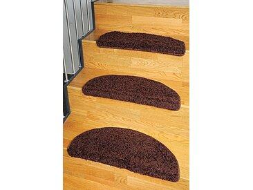 Living Line Stufenmatte »Shaggy Pulpo«, stufenförmig, Höhe 22 mm, braun, 22 mm, braun