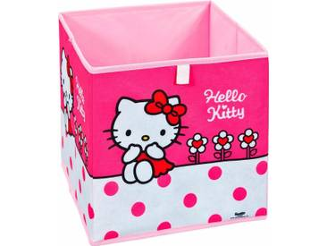 Home affaire Faltbox »Hello Kitty«, rosa, pink-weiß