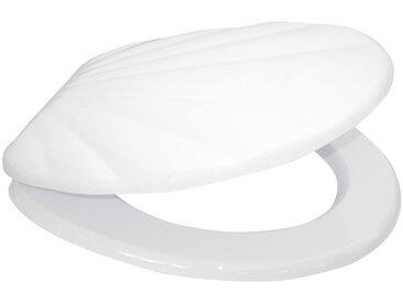Sanilo SANILO WC-Sitz »Muschel Weiß«, mit Absenkautomatik, weiß, weiß