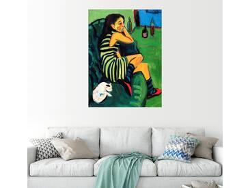 Posterlounge Wandbild - Ernst Ludwig Kirchner »Artistin - Marcella«, bunt, Forex, 100 x 130 cm, bunt