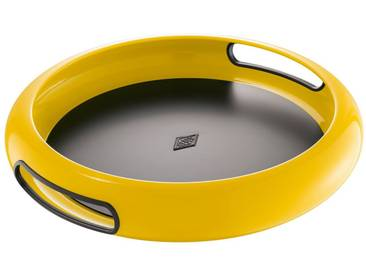 WESCO Wesco Tablett »SPACY TRAY«, gelb, M, Lemon