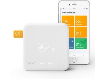 Tado Smart Home Zubehör »Smart Thermostat - Starter Kit V3+ inkl. 1 Bridge«, weiß, Weiß