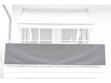 Angerer Freizeitmöbel ANGERER FREIZEITMÖBEL Balkonsichtschutz Meterware, granitgrau, H: 90 cm, grau, 90 cm, grau