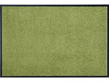 HANSE Home Fußmatte »Wash & Clean«, rechteckig, Höhe 7 mm, waschbar, grün, 7 mm, grün