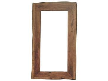 Kasper-Wohndesign Spiegel Akazie Massiv-Holz Baumkante »Live Edge«, braun, braun