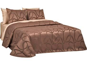 SEI Design Tagesdecke »Empress«, mit Muster, braun, Kunstfaser, braun