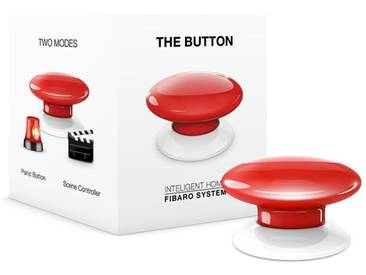 Fibaro Smart Home Zubehör »The Button - Z-Wave«, rot, Rot