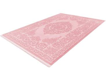 LALEE Läufer »Noblesse 900«, rechteckig, Höhe 12 mm, rosa, 12 mm, rosa