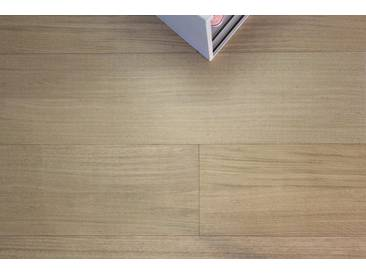 GHB Böden die Räume adeln Laminat »Eiche Alpin geölt«, Echtholz, 250 x 2050 mm, weiß, weiß