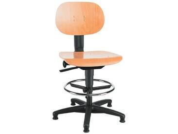 TOPSTAR Arbeitsdrehstuhl ohne Armlehnen »Tec 11 Counter«, schwarz, schwarz