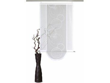 VHG Schiebegardine »Aura«, Klettband (1 Stück), inkl. Befestigungszubehör, Bogenabschluss