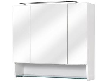 FACKELMANN Spiegelschrank »Sceno«, Breite 80 cm, weiß, weiß