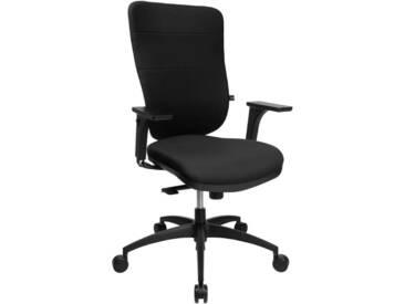 TOPSTAR Bürostuhl »Soft Pro 100«, schwarz, schwarz
