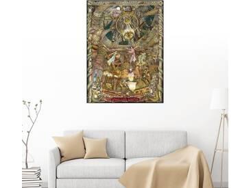 Posterlounge Wandbild - Albert Lorenz »Draculas Castle«, grau, Holzbild, 120 x 160 cm, grau
