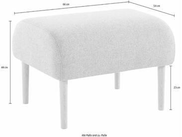andas Hocker »Finesse« in skandinavischem Design mit attraktiver Formensprache, grau, mittelgrau