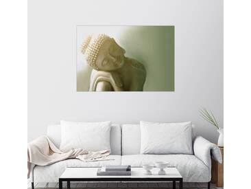 Posterlounge Wandbild - Christine Ganz »Ruhender Buddha I«, bunt, Acrylglas, 150 x 100 cm, bunt
