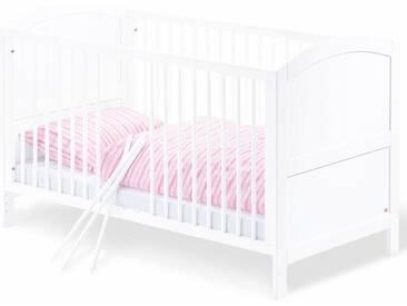 Pinolino® Pinolino Kinderbett, »Laura«, weiß, weiß