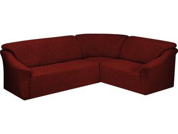 Dohle&Menk Sofahusse »Teide«, monoelastische Stretchware mit hohem Baumwollanteil, rot, Ecksofahusse, bordeaux