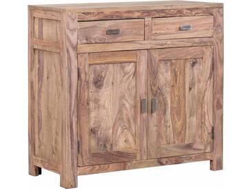 Gutmann Factory Kommode »Inka« aus massivem Sheesham Holz, Breite 90 cm, braun, braun
