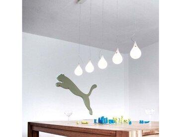 Next LED Hängeleuchte »Drop_2 xs 5 LED 107cm dimmbar«, weiß, Weiß