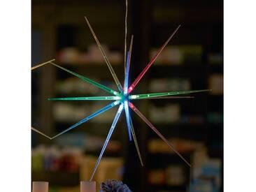 LED Deko-Stern, 3D-Optik, Ø 51 cm, mit Farbwechlser, bunt, bunt