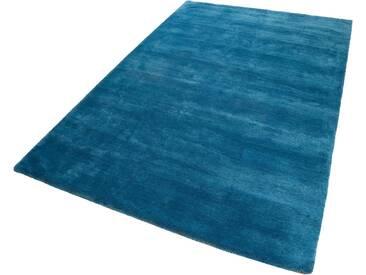 Esprit Teppich »#Loft«, rechteckig, Höhe 20 mm, Besonders weich durch Microfaser, grün, 20 mm, petrol