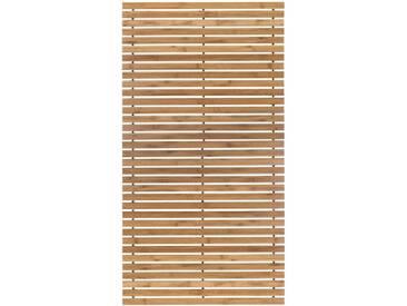 Kleine Wolke Badematte »Level Holzmatte« , Höhe 8 mm, rutschhemmend beschichtet, fußbodenheizungsgeeignet, natur, 8 mm, natur