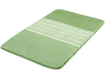 MEUSCH Badematte »Julia« , Höhe 20 mm, rutschhemmend beschichtet, fußbodenheizungsgeeignet, lila, 20 mm, distel