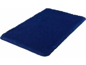 MEUSCH Badematte »Super Soft« , Höhe 23 mm, fußbodenheizungsgeeignet, strapazierfähig, rutschhemmender Rücken, blau, 23 mm, dunkelblau