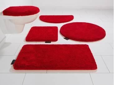 Bruno Banani Badematte »Lana« , Höhe 25 mm, rutschhemmend beschichtet, fußbodenheizungsgeeignet, lila, 25 mm, raspberry