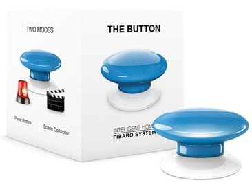 Fibaro Smart Home Zubehör »The Button - Z-Wave«, blau, Blau